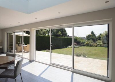 bi-fold sliding patio doors sunroom kent