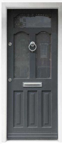 traditional style front door kent