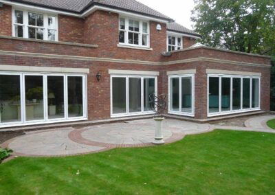bi-fold aluminium sliding patio doors