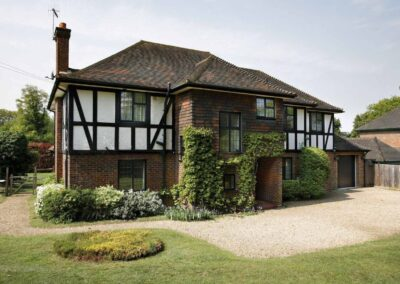 windows for tudor style home kent