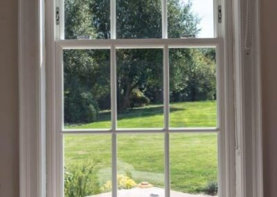 new sash timber windows
