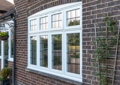 windows with lead effect kent