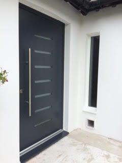 modern style front door kent