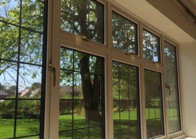 modern aluminium windows kent
