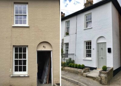 before after new windows