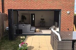 aluminium sliding patio door open sml